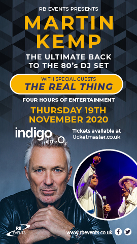 Martin Kemp and The Real Thing