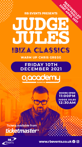 Judge Jules - Islington