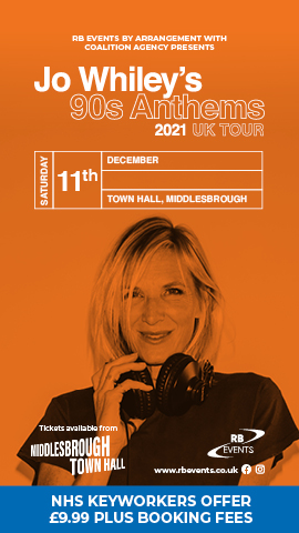 Jo Whiley - Middlesbrough